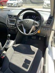 2017 Hyundai Accent RB6 MY18 Sport Chalk White 6 Speed Sports Automatic Sedan