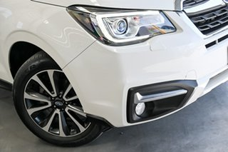 2017 Subaru Forester S4 MY18 2.5i-S CVT AWD White 6 Speed Constant Variable Wagon.