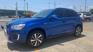 2014 Mitsubishi ASX XB MY15 LS 2WD Blue 5 Speed Manual Wagon.