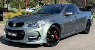 2016 Holden Ute VF II MY16 SS V Ute Redline Grey 6 Speed Manual Utility.