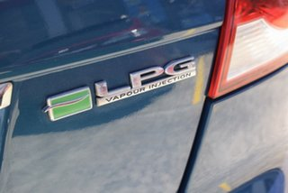 2013 Holden Commodore VE II MY12.5 SV6 Z Series Green 6 Speed Sports Automatic Sedan