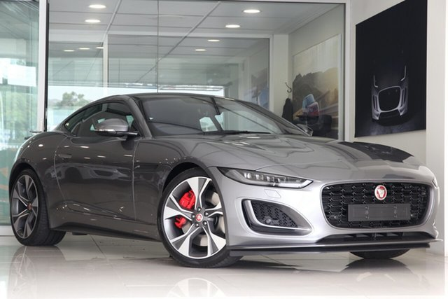 New Jaguar F-TYPE X152 21MY First Edition Brookvale, 2020 Jaguar F-TYPE X152 21MY First Edition Eiger Grey 8 Speed Sports Automatic Coupe
