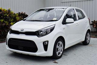 2018 Kia Picanto JA MY18 S White 4 Speed Automatic Hatchback