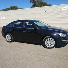2015 Holden Cruze JH Series II MY15 CDX Black 6 Speed Sports Automatic Sedan.