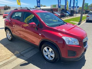 2014 Holden Trax TJ MY15 LS Red 6 Speed Automatic Wagon.