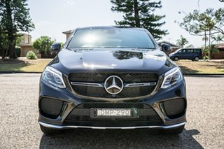2016 Mercedes-Benz GLE-Class C292 807MY GLE43 AMG Coupe 9G-Tronic 4MATIC Black 9 Speed.