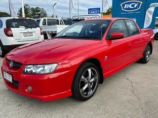 2004 Holden Crewman VZ S Red 4 Speed Automatic Utility.