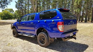 2012 Ford Ranger PX XL Aurora Blue 6 Speed Sports Automatic Utility