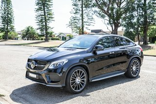 2016 Mercedes-Benz GLE-Class C292 807MY GLE43 AMG Coupe 9G-Tronic 4MATIC Black 9 Speed