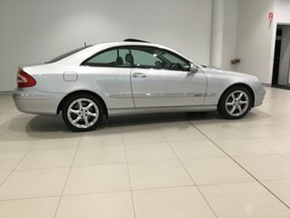 2003 Mercedes-Benz CLK-Class C209 CLK500 Elegance Silver 5 Speed Automatic Coupe.