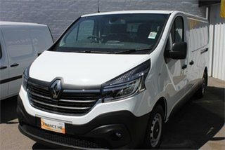 2019 Renault Trafic X82 Premium 125kW Glacier White 6 Speed Sports Automatic Dual Clutch Van.
