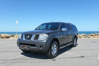 2006 Nissan Navara D40 ST-X Grey 5 Speed Automatic Utility.