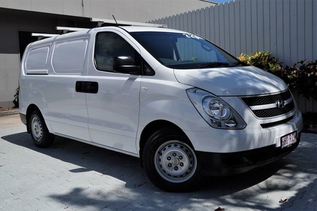 Used Hyundai iLOAD TQ-V MY11 Cairns, 2011 Hyundai iLOAD TQ-V MY11 White 5 Speed Manual Van