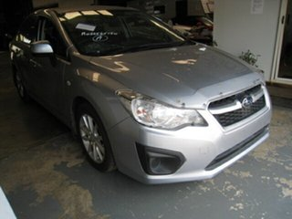 2013 Subaru Impreza MY13 2.0I (AWD) Silver 6 Speed Manual Sedan.