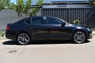 2014 Skoda Octavia NE MY15 RS Sedan DSG 162TSI Black 6 Speed Sports Automatic Dual Clutch Liftback