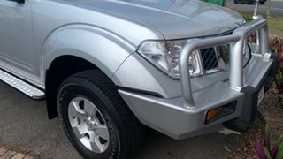 2008 Nissan Navara D40 ST-X Silver 5 Speed Automatic Utility.