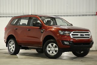 2015 Ford Everest UA Ambiente Red 6 Speed Sports Automatic SUV.