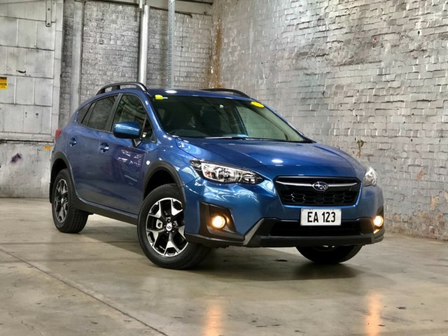 Used Subaru XV G5X MY18 2.0i Lineartronic AWD Mile End South, 2018 Subaru XV G5X MY18 2.0i Lineartronic AWD Blue 7 Speed Constant Variable Wagon