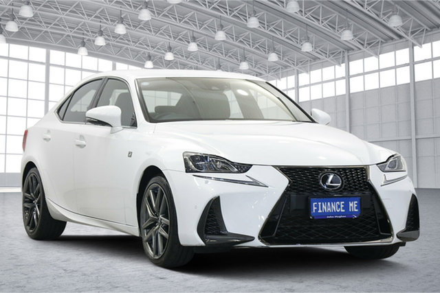 Used Lexus IS GSE31R IS350 F Sport Victoria Park, 2017 Lexus IS GSE31R IS350 F Sport White 8 Speed Sports Automatic Sedan