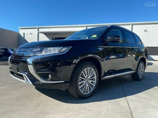 2020 Mitsubishi Outlander ZL MY20 PHEV ES ADAS Ruby Black 1 Speed Automatic Wagon
