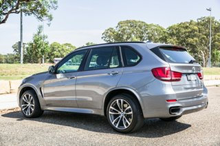 2015 BMW X5 F15 M50D Arctic Grey 8 Speed Sports Automatic Wagon