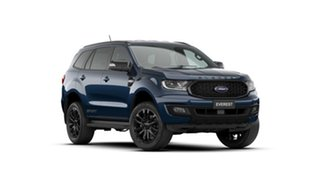 2020 Ford Everest UA II 2021.25MY Sport Deep Crystal Blue 6 Speed Sports Automatic SUV