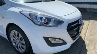 2016 Hyundai i30 GD4 Series II MY17 Active Ceramic White 6 Speed Sports Automatic Hatchback.