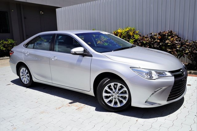Used Toyota Camry ASV50R Altise Cairns, 2015 Toyota Camry ASV50R Altise Silver 6 Speed Sports Automatic Sedan