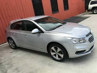2016 Holden Cruze JH Series II MY16 Z-Series Silver 5 Speed Manual Hatchback