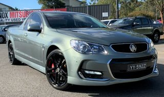 2016 Holden Ute VF II MY16 SS V Ute Redline Grey 6 Speed Manual Utility