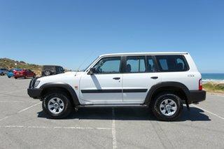 2004 Nissan Patrol GU III MY2003 ST White 5 Speed Manual Wagon