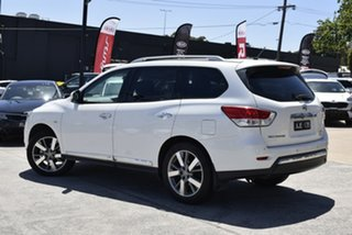 2015 Nissan Pathfinder R52 MY15 Ti X-tronic 4WD White 1 Speed Constant Variable Wagon