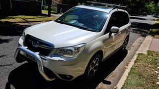 2013 Subaru Forester S4 MY14 2.0D-L AWD Pearl White 6 Speed Manual Wagon.