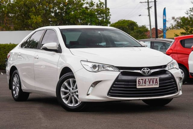Used Toyota Camry ASV50R Altise Mount Gravatt, 2015 Toyota Camry ASV50R Altise White 6 Speed Sports Automatic Sedan
