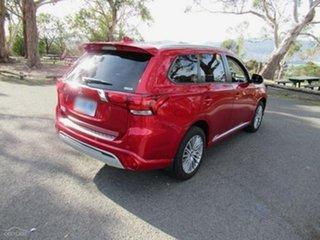 2020 Mitsubishi Outlander ZL MY20 PHEV AWD ES ADAS Diamond Red 1 Speed Automatic Wagon Hybrid.