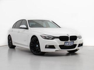 2013 BMW 328i F30 MY14 Sport Line White 8 Speed Automatic Sedan.
