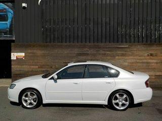 2006 Subaru Liberty B4 MY06 Safety Pack AWD White 4 Speed Sports Automatic Sedan