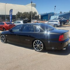 2004 Holden Special Vehicles Grange WK Black 4 Speed Automatic Sedan