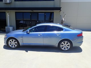 2008 Jaguar XF X250 Luxury Blue Ice 6 Speed Sports Automatic Sedan