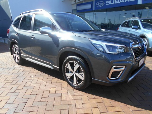 Demo Subaru Forester S5 MY21 2.5i-S CVT AWD Toowoomba, 2020 Subaru Forester S5 MY21 2.5i-S CVT AWD Magnetite Grey 7 Speed Constant Variable Wagon