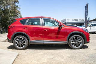 2016 Mazda CX-5 KE1032 Akera SKYACTIV-Drive i-ACTIV AWD Red 6 Speed Sports Automatic Wagon