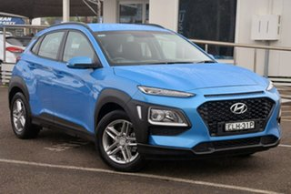 2017 Hyundai Kona OS MY18 Active 2WD Blue 6 Speed Sports Automatic Wagon.