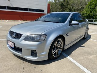 2012 Holden Commodore VE II MY12 SV6 Silver 6 Speed Manual Sedan