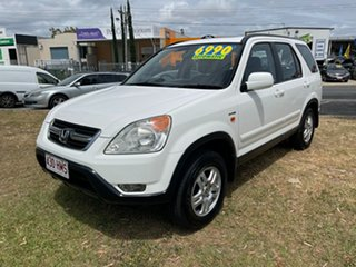 2003 Honda CR-V RD MY2003 Sport 4WD White 4 Speed Automatic Wagon.