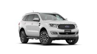 2021 Ford Everest UA II 2021.25MY Titanium Arctic White 10 Speed Sports Automatic SUV