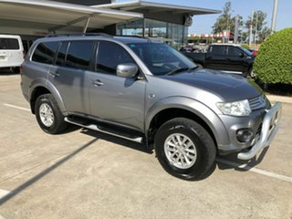 2013 Mitsubishi Challenger PC (KH) MY14 Grey 5 Speed Sports Automatic Wagon.