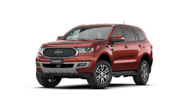 New Ford Everest UA II 2021.25MY Trend Bendigo, 2021 Ford Everest UA II 2021.25MY Trend Sunset 6 Speed Sports Automatic SUV