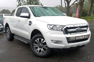 2015 Ford Ranger PX XLT Super Cab White 6 Speed Sports Automatic Utility.