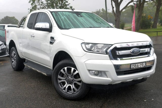 Used Ford Ranger PX XLT Super Cab West Gosford, 2015 Ford Ranger PX XLT Super Cab White 6 Speed Sports Automatic Utility