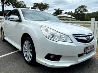 2010 Subaru Liberty B5 MY11 2.5i Lineartronic AWD White 6 Speed Constant Variable Sedan.
